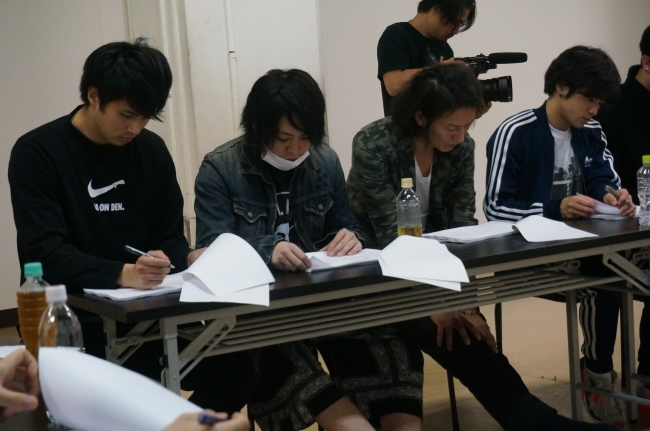 「ALL OUT!! THE STAGE」(C)雨瀬シオリ・講談社/「ALL OUT!! THE STAGE」製作委員会