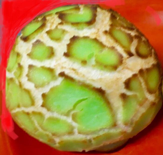パンの木 町田シルクメロンパン(300円)