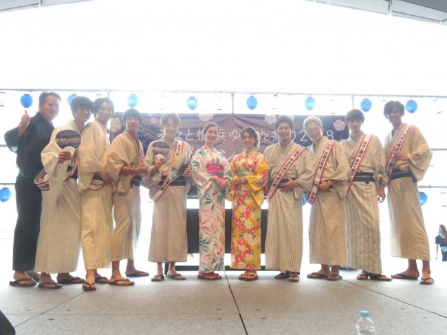 「みなと横浜ゆかた祭り」オープニングイベント