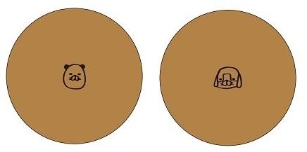 スティーヴン★スピルハンバーグ×パンのフェス「パンダの犬」パンイメージ