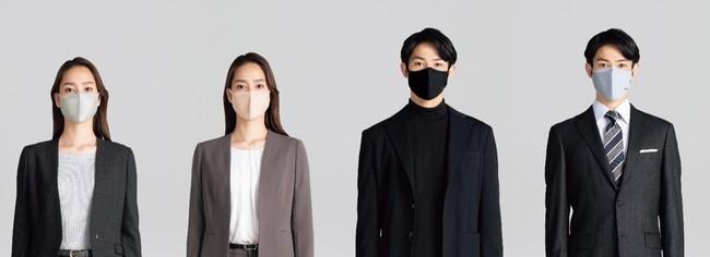 服 マスク 紳士 アオキ