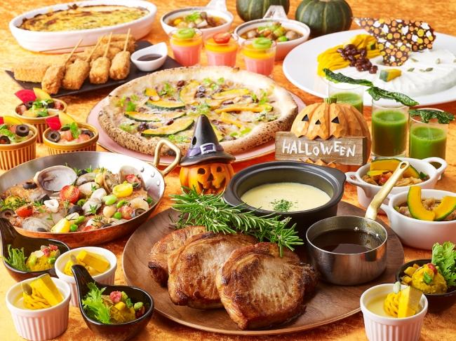 ブッフェレストラン「ミケーラ」 「爽秋のハロウィン ランチ&ディナーブッフェ」(イメージ)
