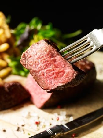 オーガニック牛サーロインステーキ