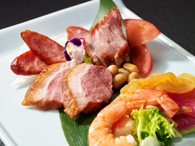 3種の肉を楽しむ前菜盛り合せ(彩湖)