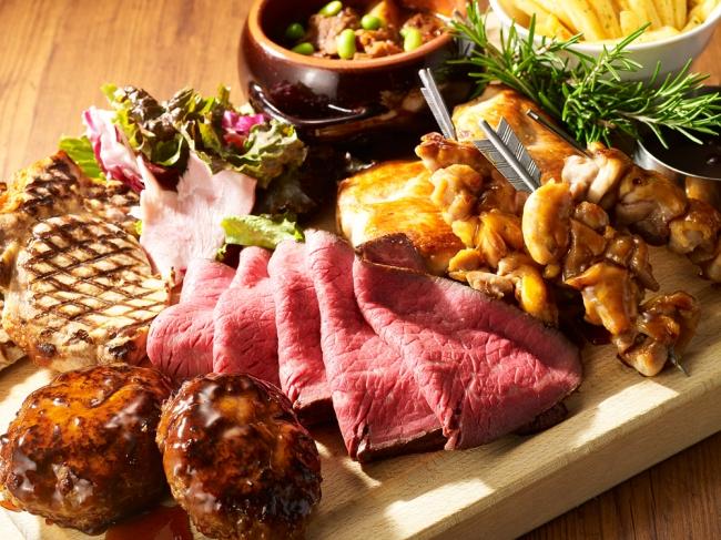 肉まつりランチ&ディナーブッフェ(ミケーラ)