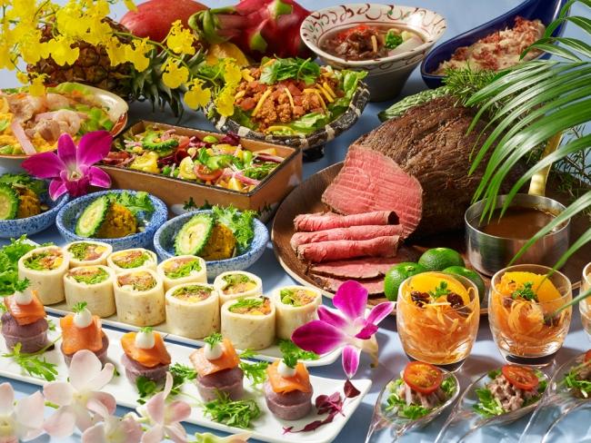 沖縄&スタミナ ランチ&ディナーブッフェ(ブッフェレストラン「ミケーラ」)