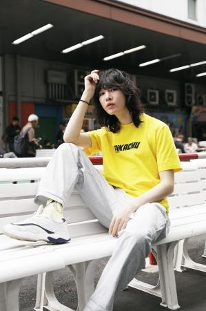NAME:GIRO (@giro.tanaka) Tシャツ:1,799円、パンツ:参考商品