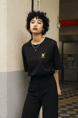 NAME:Aria Asakawa Polkey (@aria_polkey) Tシャツ:1,499円、パンツ:参考商品
