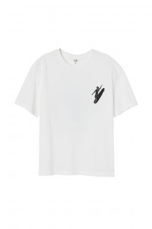 Tシャツ¥1,799(100%オーガニックコットン)