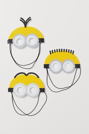 キャラクターマスク3枚セット¥999