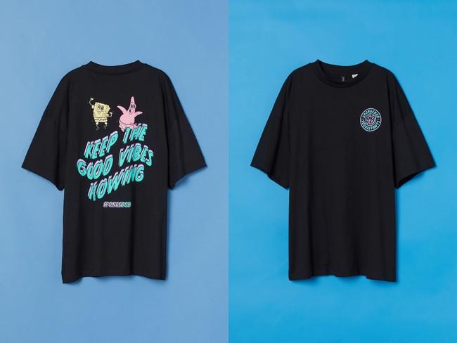 プリントオーバーサイズTシャツ¥999