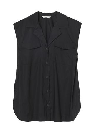 ノースリーブシャツ:¥2,499 100%オーガニックコットン