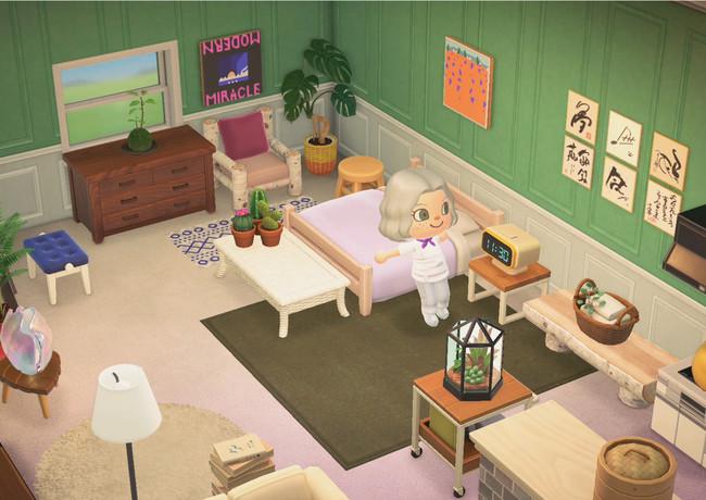 メイジ―・ウィリアムズのキャラクターの部屋