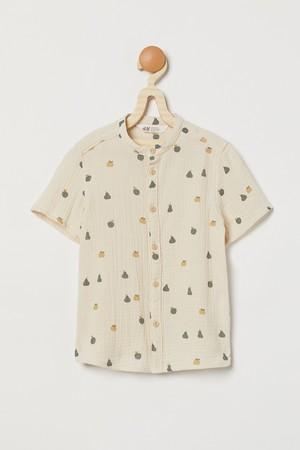 ダブルウィーブグランドファーザーシャツ¥1,899