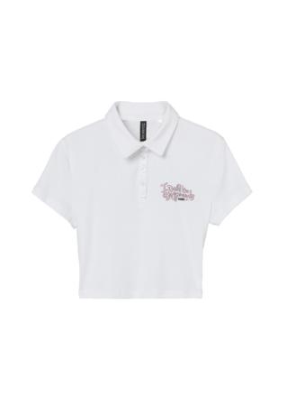 クロップドラガーシャツ¥1,499 一部リサイクルコットン使用
