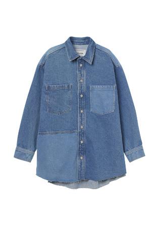 デニムジャケット¥5,999(100%リサイクルコットン使用)