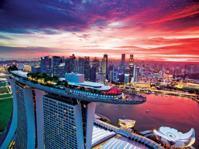 「CE LA VI SINGAPORE」Marina Bay Sands