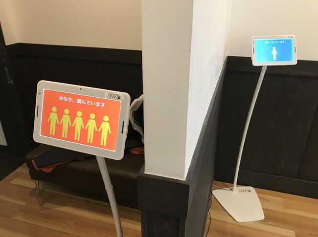 大浴場混雑監視システム