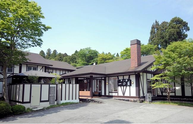 ロッジ風のリゾート旅館