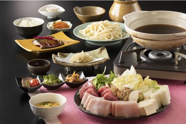 三崎マグロとトロメカジキの絶品ねぎま鍋プラン