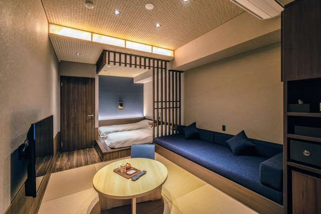 仙石原ススキの原一の湯 別館客室一例