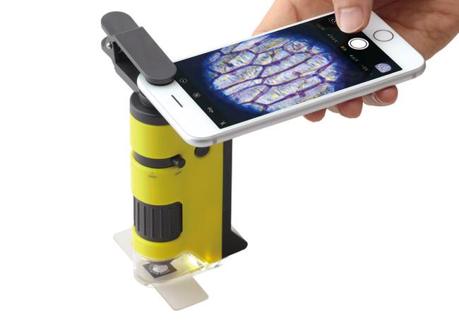 ワークショップで使用するハンディ顕微鏡DX「RXT300」