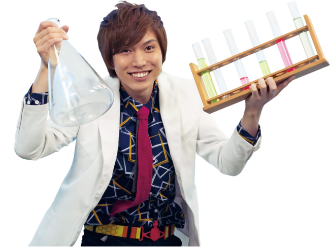 YouTubeチャンネルでおもしろい科学実験を紹介している市岡 元気先生が登場!