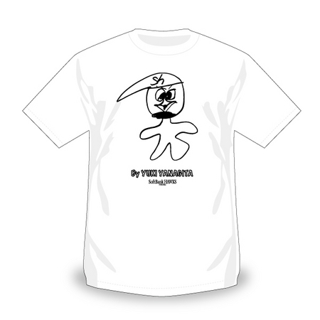 選手が描いた力作イラストがグッズに福岡ソフトバンクホークス株式
