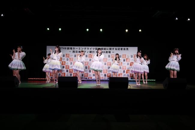 西日本シティ銀行 HKT48劇場(©Mercury)