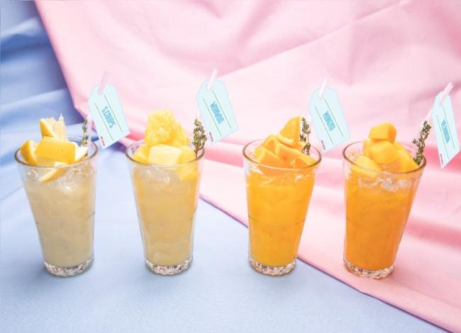 フルーツジュース on theフルーツ 4種