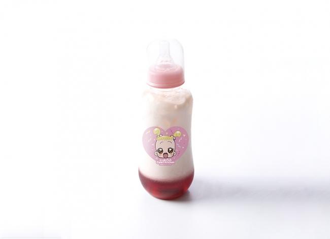 ハナちゃんの哺乳瓶ミルクティー