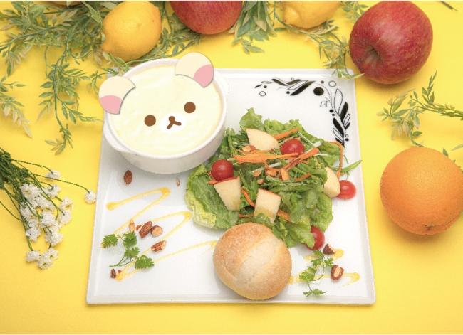 コリラックマのアップルチーズグラタン