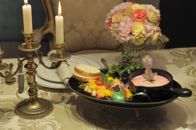 <Be Our Guest>晩餐会のおもてなしアラカルト