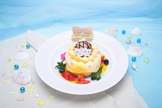 HAPPY HAMUHAMU バースデーケーキ