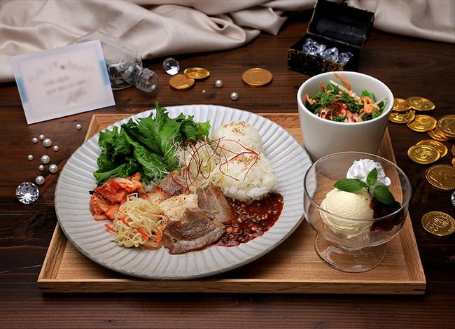 【YUN HO】サムギョプサル&アイスクリーム