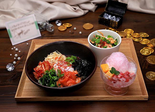 【JONG HO】海鮮ビピンパ&フルーツかき氷