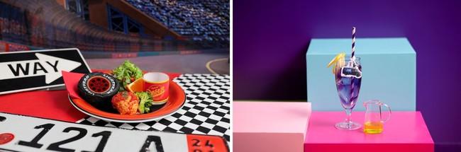 <カーズ ライトニング・マックィーン>カチャウ!稲妻のハンバーグサンド、<2分の1の魔法 イアン&バリー>ピンクの夕焼けブルーマロウティ