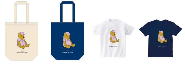 トートバッグ 全2種、Tシャツ 全2種