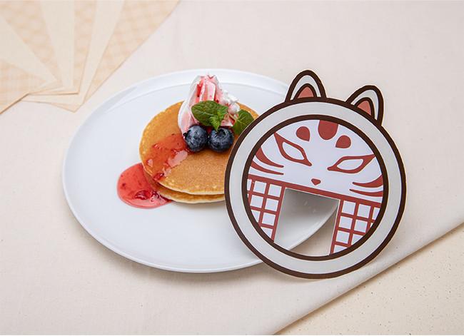 【SIDE MENU】狐格子のミニパンケーキ