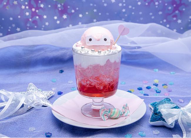 ピンクコウペンちゃんのまほうソーダ