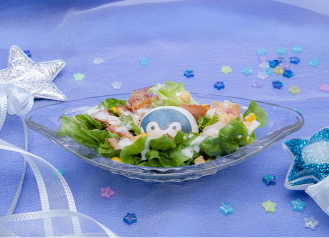 コウペンちゃんのシーザーサラダ