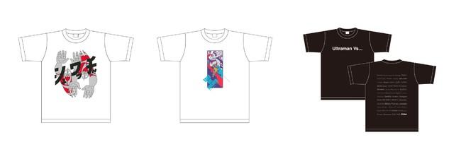 ラボTシャツ-牛木匡憲-、コラボTシャツ-錠マヱ-、コラボTシャツ-広岡毅-