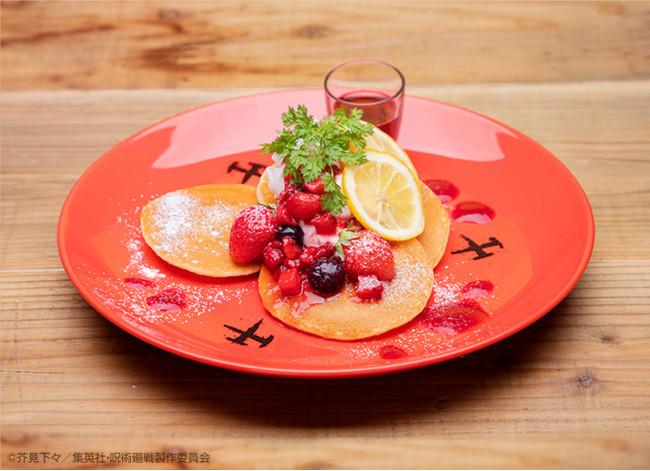 【DESSERT】釘崎野薔薇「ストロベリーパンケーキ」