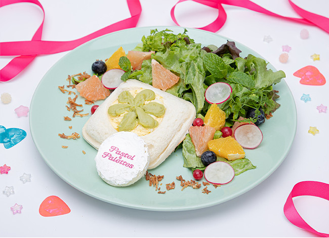 【Pastel*Palettes】 パステルベーコンエッグサンド