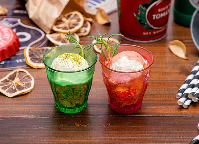 ミニグラスアイス ワイルドタイガー、ミニグラスアイス バーナビー