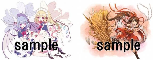 Illustration(左):リめい(韓国)  Illustration(右):vinhnyu(フランス)