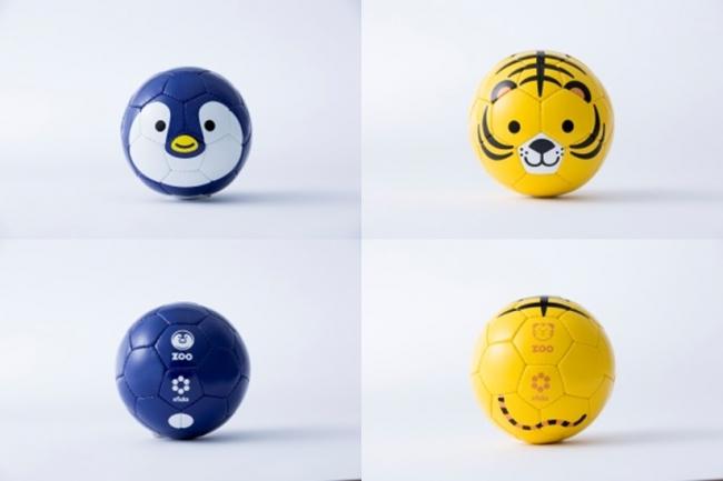 MoMAで販売されるFootball Zooシリーズ(左:ペンギン 右:トラ)