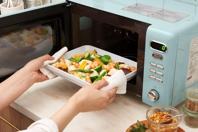 大きなお皿も入れやすい!