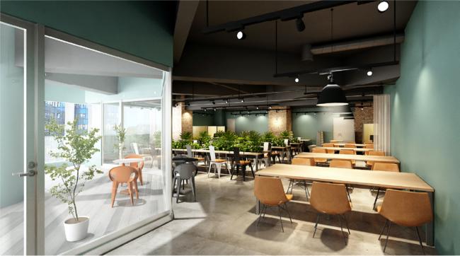コワーキングスペース「BasisPoint」が九州上陸!2021年9月1日(水)福岡市天神に新店舗プレオープン。「GeekSalon」と提携した本店舗は、すべての学ぶ人のためのスペースがコンセプト。
