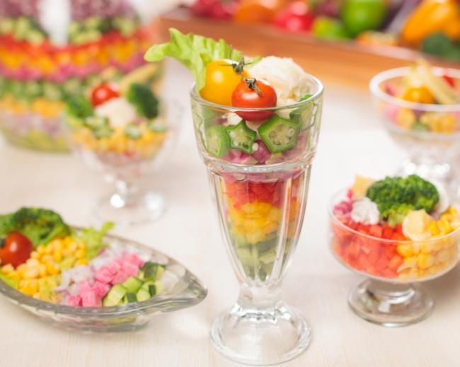 サラダパフェイメージ